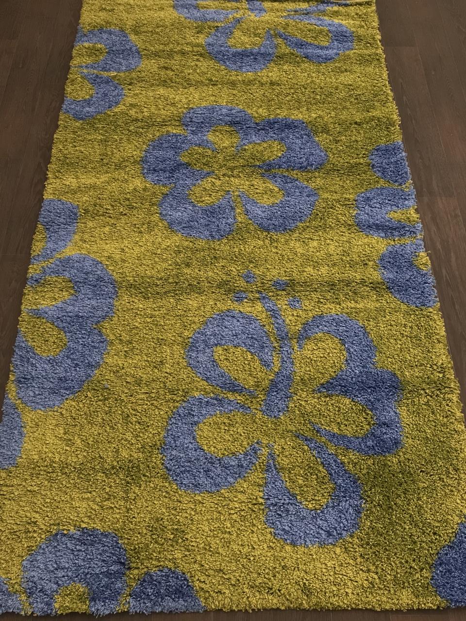 SHAGGY ULTRA - s605 - GREEN-BLUE