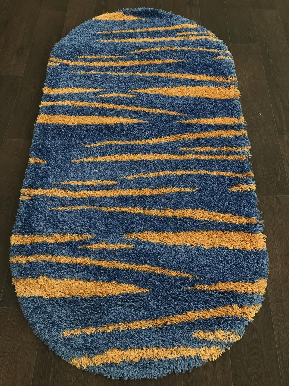SHAGGY ULTRA - S608 - BLUE-YELLOW
