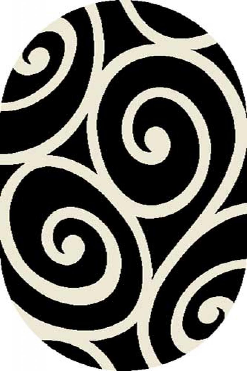 SHAGGY ULTRA - S696 - BLACK-CREAM
