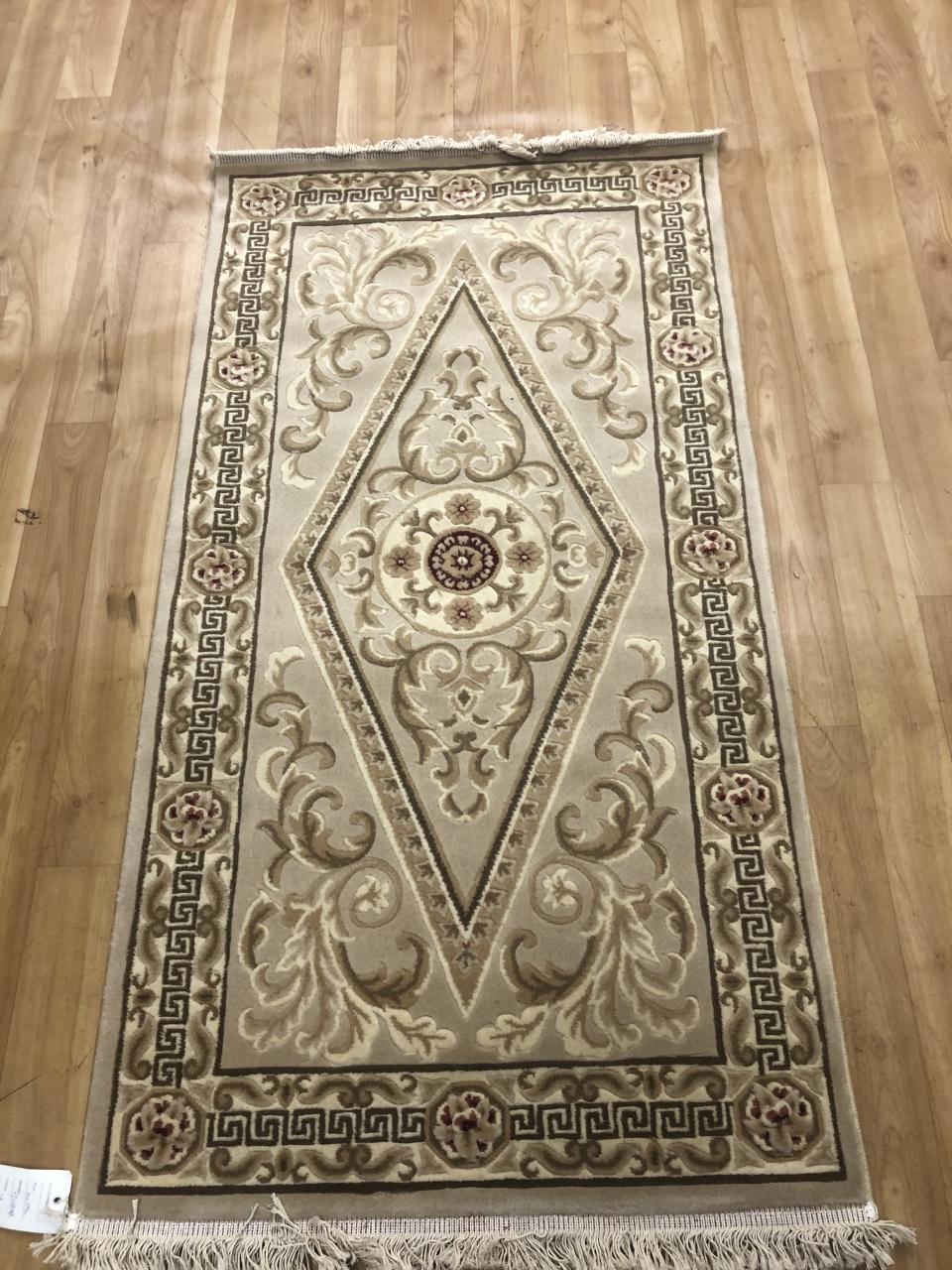 Woolen Machine-made carpets - 000 - CREAM