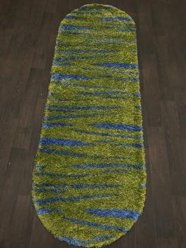 SHAGGY ULTRA - s608 - GREEN-BLUE