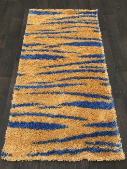 SHAGGY ULTRA - s608 - YELLOW-BLUE