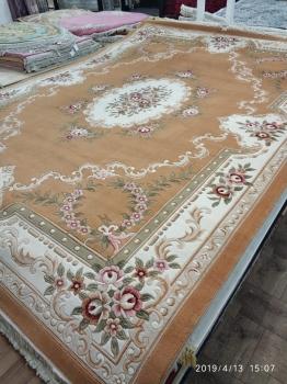 Woolen Machine-made carpets - QJ0277GMA - YELLOW