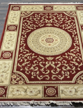 Woolen Machine-made carpets - ZY2339MA - RED