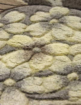 90 LINE WOOLEN HANDK-KNOTTED - 9611 - NATURAL