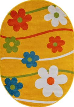 1021 YELLOW OVAL