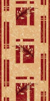 DIANA - 5985 - BEIGE-RED