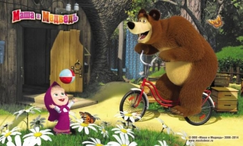 Masha and the Bear - D3MM011 - mix