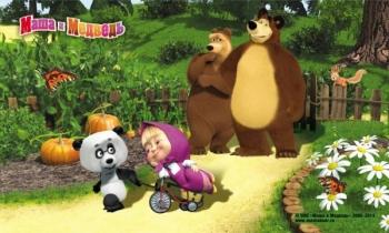 Masha and the Bear - D3MM015 - mix