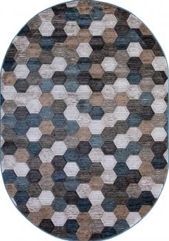 MATRIX - D579 - BEIGE-BLUE