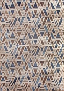 MATRIX - D585 - BEIGE-BLUE