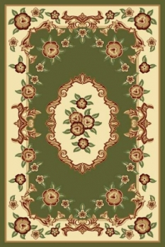 PACIFIC CARVING - 37 - GREEN / CREAM