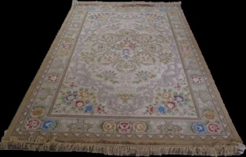 Woolen Machine-made carpets - STPY-27A - BEIGE