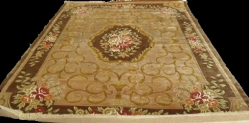 Woolen Machine-made carpets - STPY-91 - CAMEL