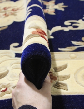 Woolen Machine-made carpets - ZY0916MC - NAVY