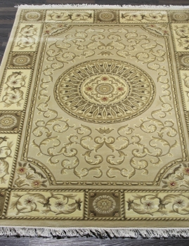 Woolen Machine-made carpets - ZY2339MB - CREAM