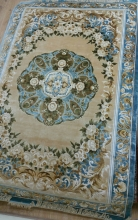 120L SILK CARPETS - STPY-193 - BLUE