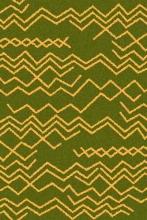 COMFORT SHAGGY 2 - s644 - GREEN-ORANGE