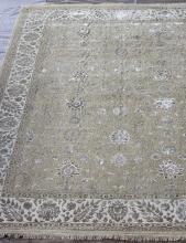 Индия шерсть шелк 14x14 - 802 - BEIGE / IVORY