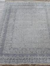Индия шерсть шелк 14x14 - 863 - SILVER/LR.BLUE
