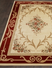 IZMIR - D142 - CREAM-RED