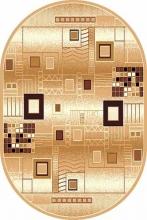 D183 BEIGE OVAL