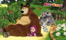 Masha and the Bear - D3MM009 - mix