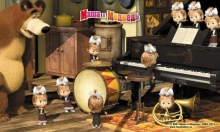 Masha and the Bear - D3MM016 - mix