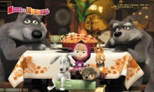 Masha and the Bear - D3MM020 - mix