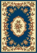 PACIFIC CARVING - 37 - NAVY / CREAM