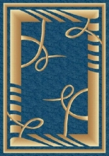 PACIFIC CARVING - 513 - NAVY / D.BEIGE