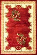 PACIFIC CARVING - 514 - RED / CREAM