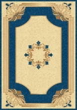 PACIFIC CARVING - 58 - CREAM / NAVY