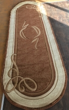 PACIFIC CARVING - 94 - BROWN / CREAM