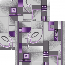 принт 8-ми цветная дорожка - p1009d2r - 50