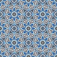 принт 8-ми цветное полотно - p1507a6p - 47