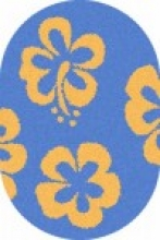 SHAGGY ULTRA - s605 - BLUE-YELLOW