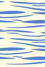 SHAGGY ULTRA - s608 - CREAM-BLUE