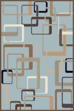 VALENCIA DELUXE - d254 - L.BLUE-BROWN