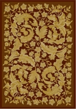 Viscose Machine-made carpets - 2M06520G2 - BROWN