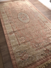Viscose Machine-made carpets - A1030RS - PINK