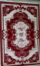 Woolen Machine-made carpets - 001 - RED
