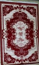 Woolen Machine-made carpets - 001 - RED