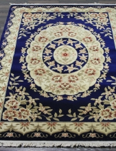 Woolen Machine-made carpets - QJ0359MC - NAVY