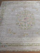 Woolen Machine-made carpets - STPY-146 - BEIGE