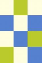 s602 - CREAM-BLUE