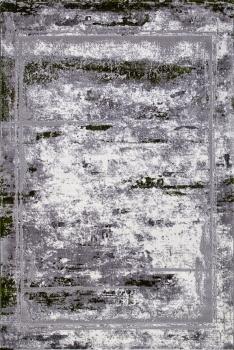 SATINE - S107B - KOYU GREY COKEN / GREEN