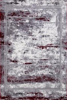SATINE - S107B - KOYU GREY COKEN / RED