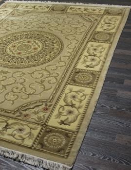 Woolen Machine-made carpets - ZY2339MB - CREAM
