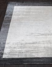 BORDER BANANA SILK LOOP&CUT - HL 764 - DK-GREY-SILVER